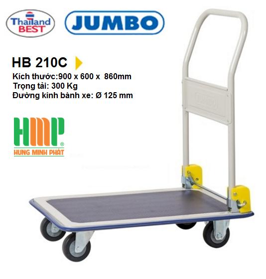 Xe Đẩy Hàng Jumbo HB 210C